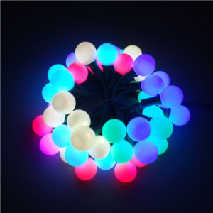 g40 led christmas string light full color changing